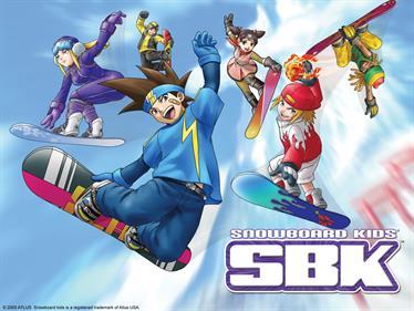 SBK: Snowboard Kids - Fanart - Background