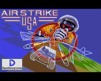 Air Strike USA - Screenshot - Game Title