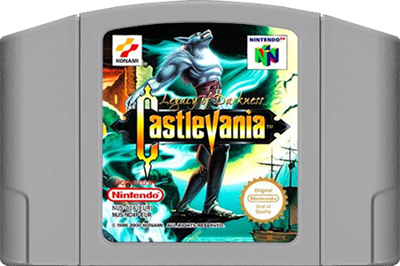 Castlevania: Legacy of Darkness - Cart - Front