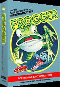 Frogger - Box - 3D