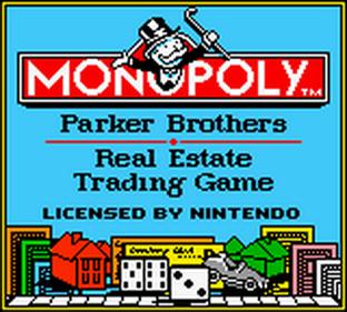 Monopoly - Screenshot - Game Title