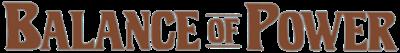 Balance of Power - Clear Logo