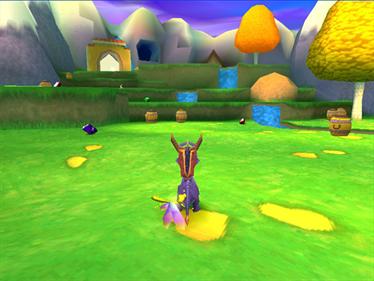 Spyro: Year of the Dragon - Screenshot - Gameplay