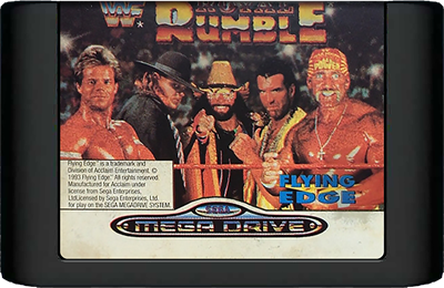 WWF Royal Rumble - Cart - Front