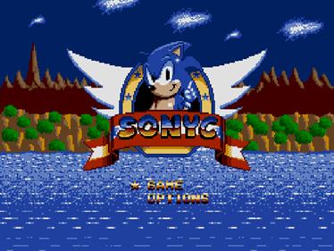 Sonyc - Screenshot - Game Title
