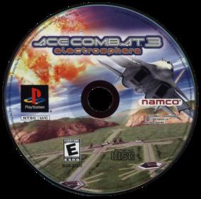 Ace Combat 3: Electrosphere - Disc