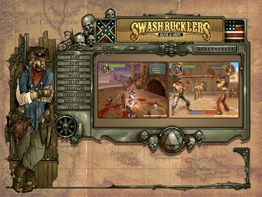 Swashbucklers: Blue Vs. Grey - Screenshot - Game Select