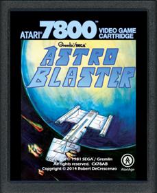 Astro Blaster - Cart - Front