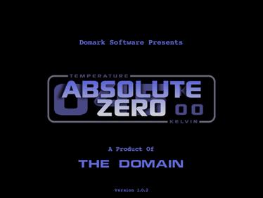 Absolute Zero - Screenshot - Game Title