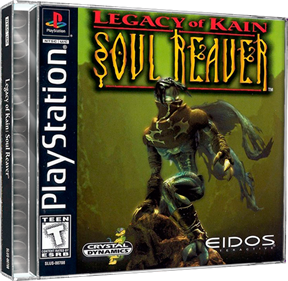 Legacy of Kain: Soul Reaver - Box - 3D