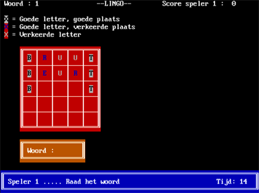 Lingo - Screenshot - Gameplay