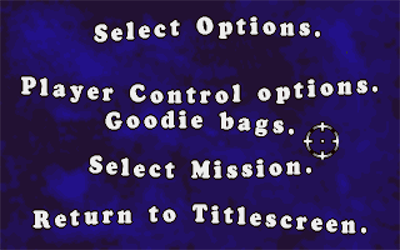 Double Agent - Screenshot - Game Select