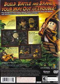 LEGO Indiana Jones: The Original Adventures - Box - Back