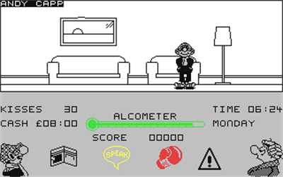 Andy Capp - Screenshot - Gameplay