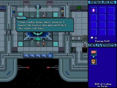 Hyperspace Delivery Boy! - Screenshot - Gameplay