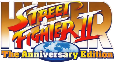 Hyper Street Fighter II: The Anniversary Edition - Clear Logo