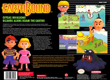 EarthBound - Box - Back