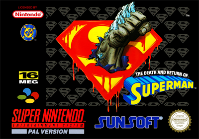 The Death and Return of Superman - Box - Front