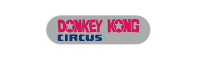 Donkey Kong Circus - Clear Logo