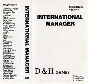 International Manager