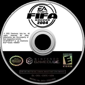 FIFA Soccer 2004 - Disc