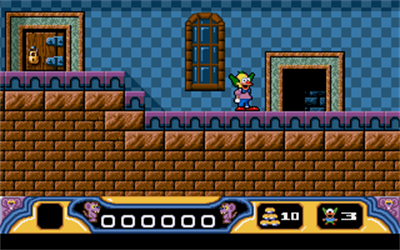 Krusty's Fun House - Screenshot - Gameplay
