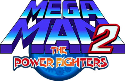 Mega Man 2: The Power Fighters - Clear Logo