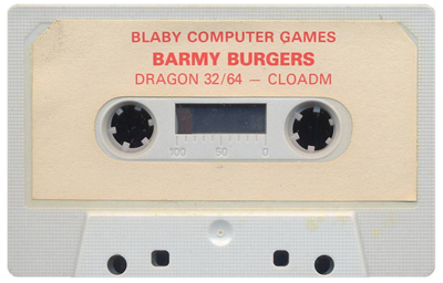 Barmy Burgers - Cart - Front