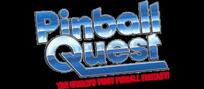 Pinball Quest - Clear Logo
