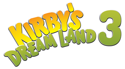 Kirby's Dream Land 3 - Clear Logo