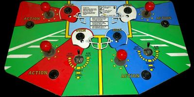 All American Football - Arcade - Control Panel