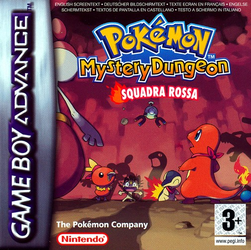 pokemon misterious dungeon squadra rossa squadra blu