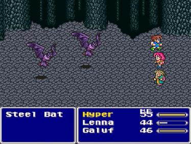 Final Fantasy V - Screenshot - Gameplay