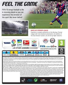 FIFA 15 - Box - Back