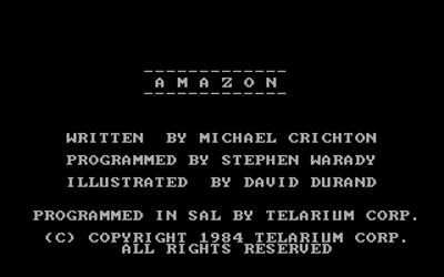 Amazon - Screenshot - Game Title