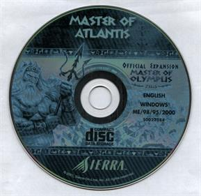 Poseidon: Master of Atlantis - Disc