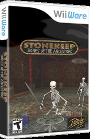 Stonekeep: Bones of the Ancestors - Box - 3D