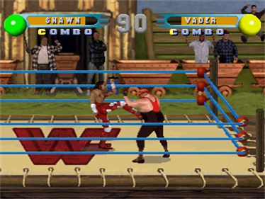 WWF In Your House - Screenshot - Gameplay