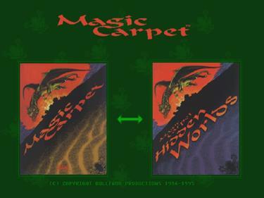 Magic Carpet Plus - Screenshot - Game Title