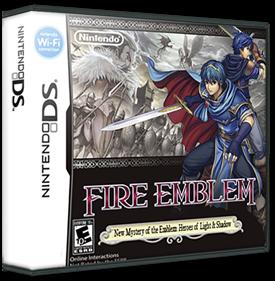 Fire Emblem: Shin Monshou no Nazo, Hikari to Kage no Eiyuu - Box - 3D