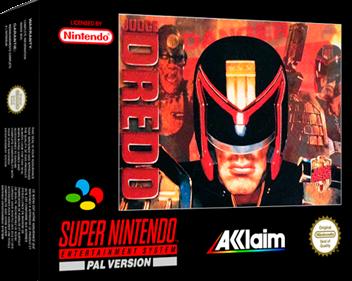 Judge Dredd - Box - 3D