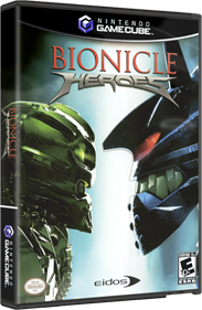 Bionicle Heroes - Box - 3D
