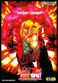 Street Fighter III 2nd Impact: Giant Attack - Advertisement Flyer - Front