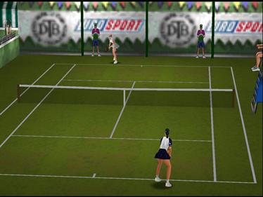 All Star Tennis 99 - Screenshot - Gameplay