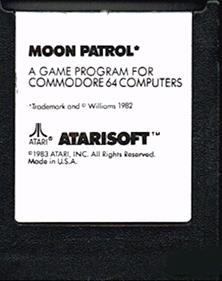 Moon Patrol (Atarisoft) - Cart - Front