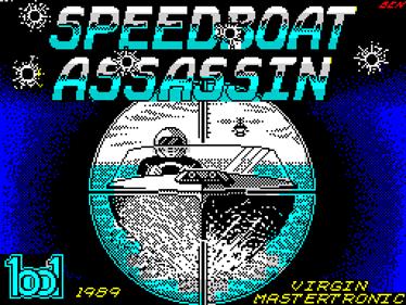 Speedboat Assassins - Screenshot - Game Title