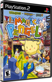 Magic Pengel: The Quest for Color - Box - 3D