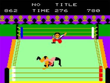 Rantou Puroresu - Screenshot - Gameplay