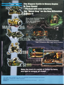 Metal Slug 3 - Box - Back