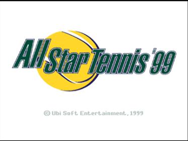 All Star Tennis 99 - Screenshot - Game Title
